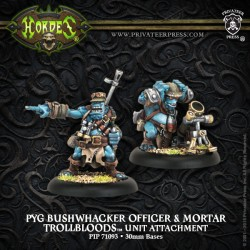 Pyg Bushwhacker Officer & Mortar