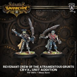 Revenant Crew of the Atramentous grunts