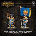 Sword Knight Officer & Standard