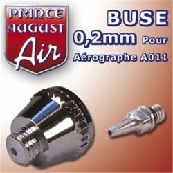 Buse 0,2 pour aérographe A011