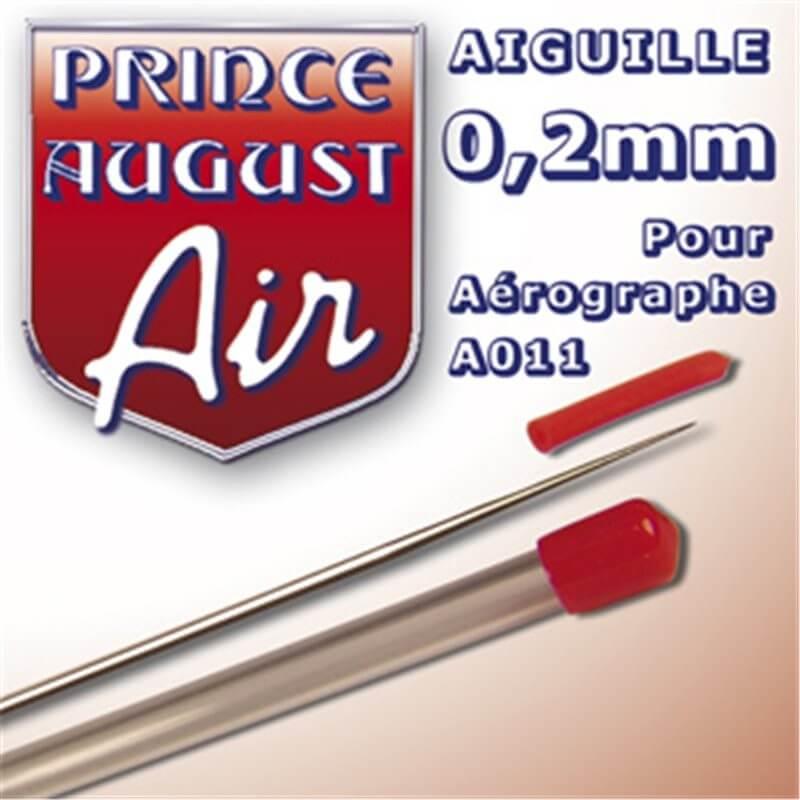 Aiguille 0.2 mm pour aérographe A011