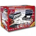 Air Premium Mallette Aerographe Compresseur + Ultra Cleaner De Prince August