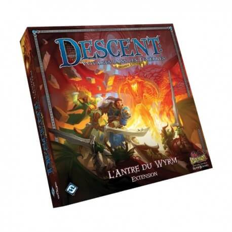 Descent Seconde Édition : L'Antre du Wyrm