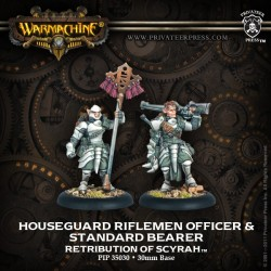 Houseguard Rifleman Officer & Standard Bearer