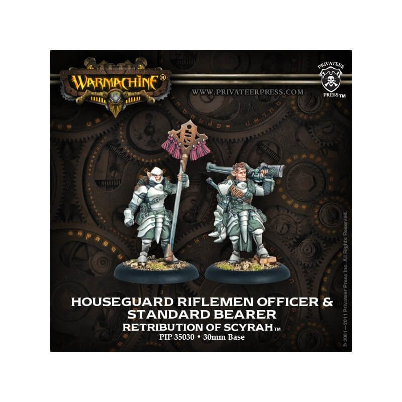 Houseguard Rifleman Officer & Standard Bearer