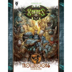 Trollbloods, Command Book en anglais (Soft cover)