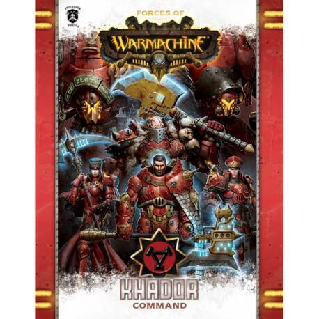 Khador Command Book en anglais (Hard cover)