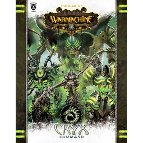 Cryx Command Book en anglais (Hard cover)