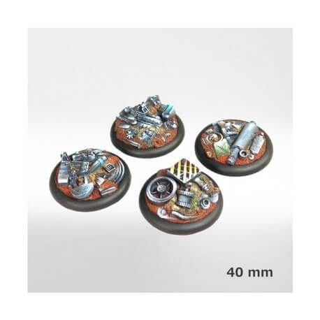 Socles Casse Mécanique 40mm (x4)