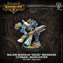 """Major Markus """"Siege"""" Brisbane"""