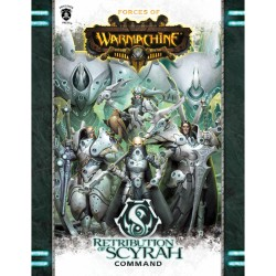 Retribution of Scyrah Command Book en anglais (Hard cover)