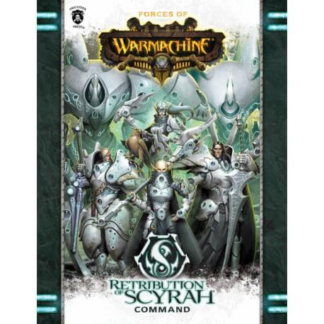 Retribution of Scyrah Command Book en anglais (Soft cover)