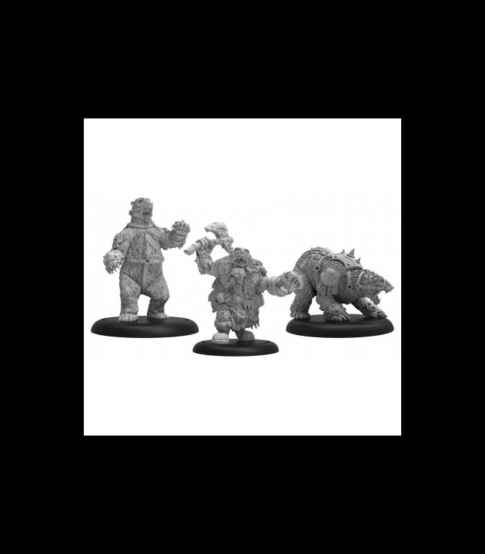 Northkin Bear Handler & Battle Bears