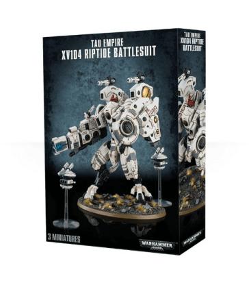 Exo-armure XV104 Riptide de l'Empire T'au