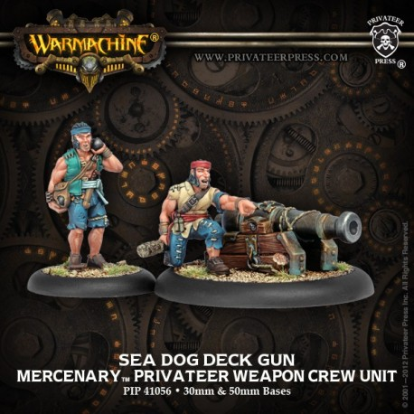 Sea Dog Deck Gun Crew