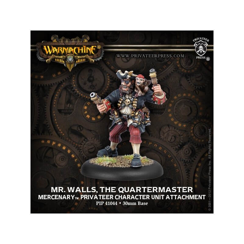 Mr. Walls, The Quartermaster