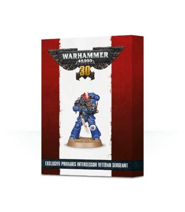 30 ans de Warhammer 40,000: Primaris Intercessor Veteran Sergeant