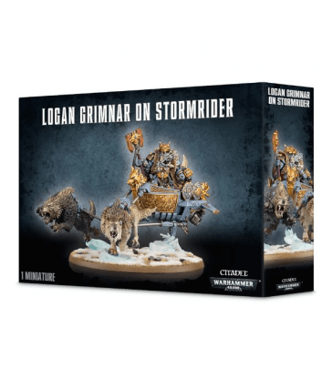 Logan Grimnar sur Stormrider