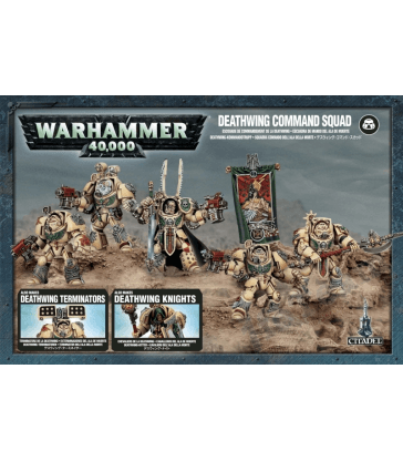 Chevaliers/Escouade de commandement / Terminators de la Deathwing