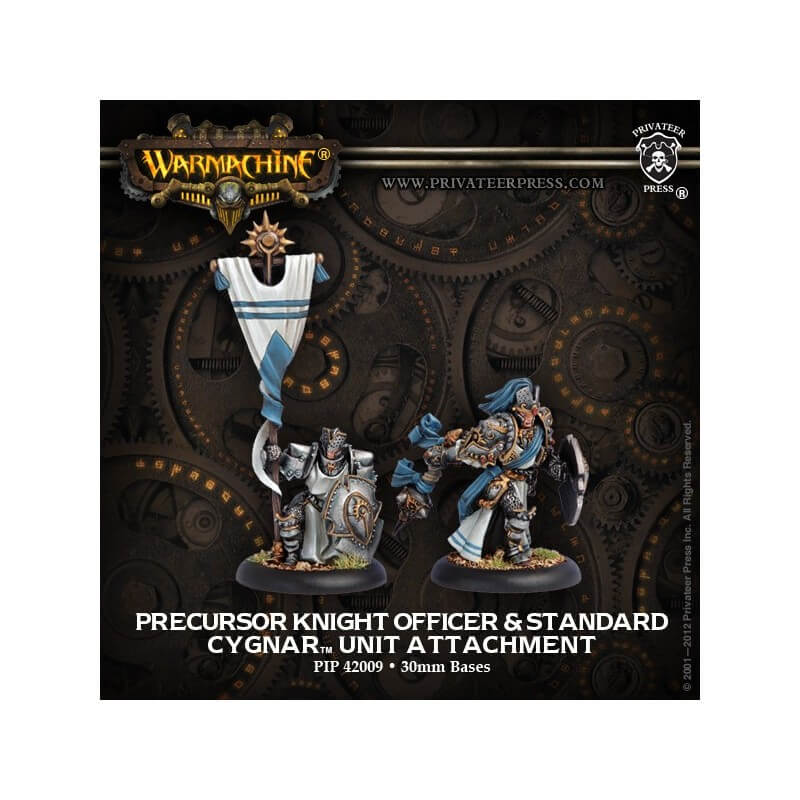 Precursor Knight Officer & Standard