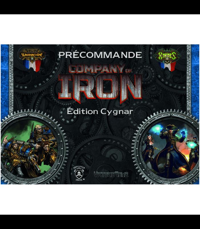 Company of Iron Edition Cygnar