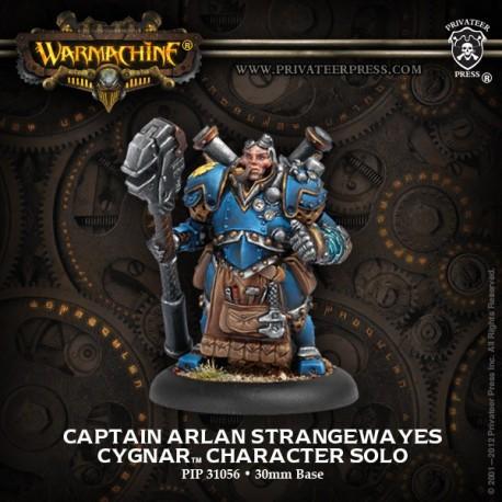 Captain Arlan Strangewayes