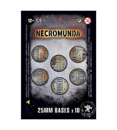 Socles Necromunda de 25mm