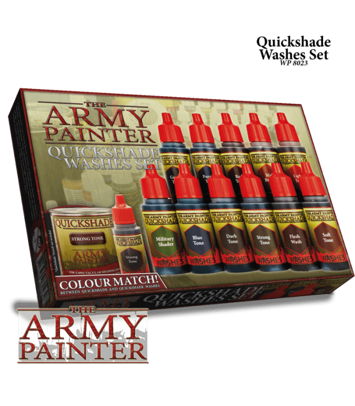 Warpaints Quickshade Ink Set