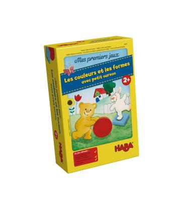 Mes premiers jeux– Les couleurs et les formes avec petit ourson