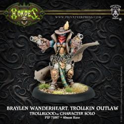 Braylen Wanderheart, Trollkin Outlaw