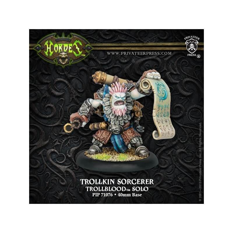 Trollkin Sorcerer