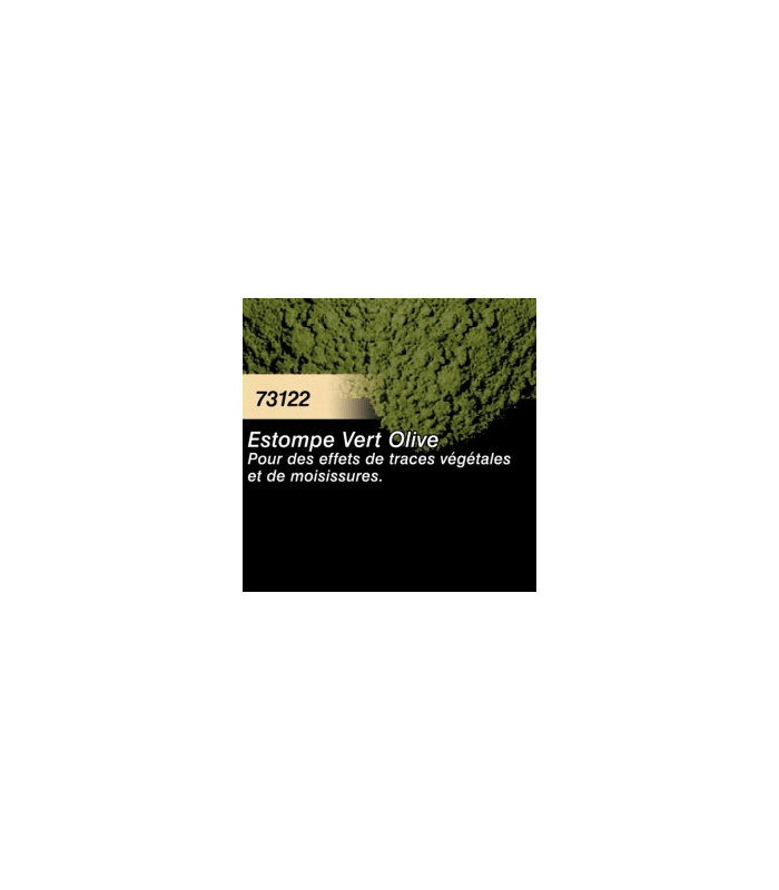 Pigment Estompe Vert Olive