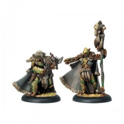 Reeve of Orboros Chieftain & Standard