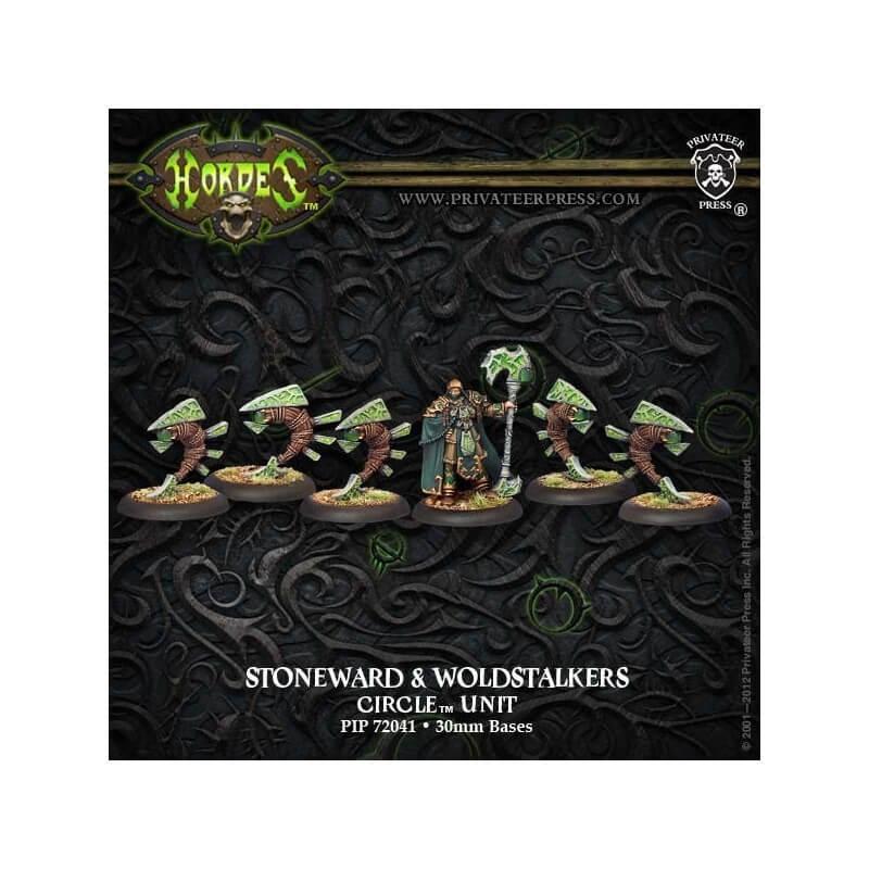 Druid Stoneward & Woldstalkers