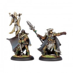 Wolves of Orboros Chieftain & Standard
