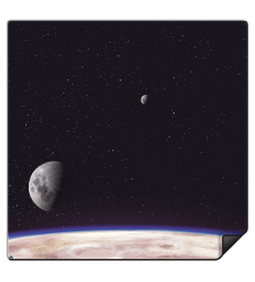 Tapis - Planet (90x90cm)