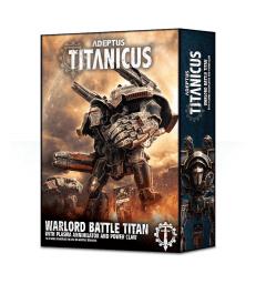 Warlord Battle Titan avec annihilateur à plasma