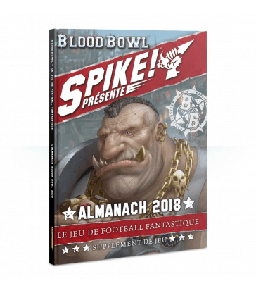 Almanach Blood Bowl 2018