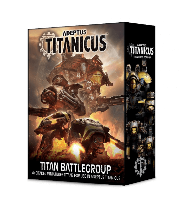 groupe de combat titanique