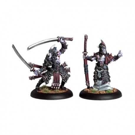 Blighted Nyss Swordsmen Abbot & Champion