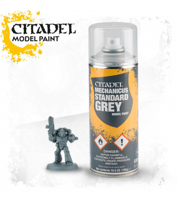 AEROSOL MECHANICUS STANDARD GREY